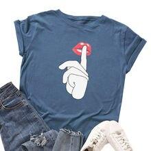 Женская футболка из 100% хлопка с принтом Харадзюку женская