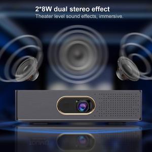 Image 5 - WZATCO S5 Di Động MINI DLP 3D Máy Chiếu 4K 5G WIFI Thông Minh Android Cho Rạp Hát Tại Nhà Máy Cân Bằng Laser 1 Full HD video 1080P LAsEr Proyector