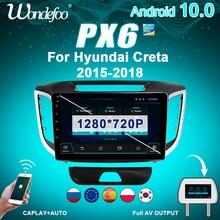 Car-Radio Navigation Multimedia Gps-Screen Bluetooth Auto-Audio Hyundai Creta Android-10
