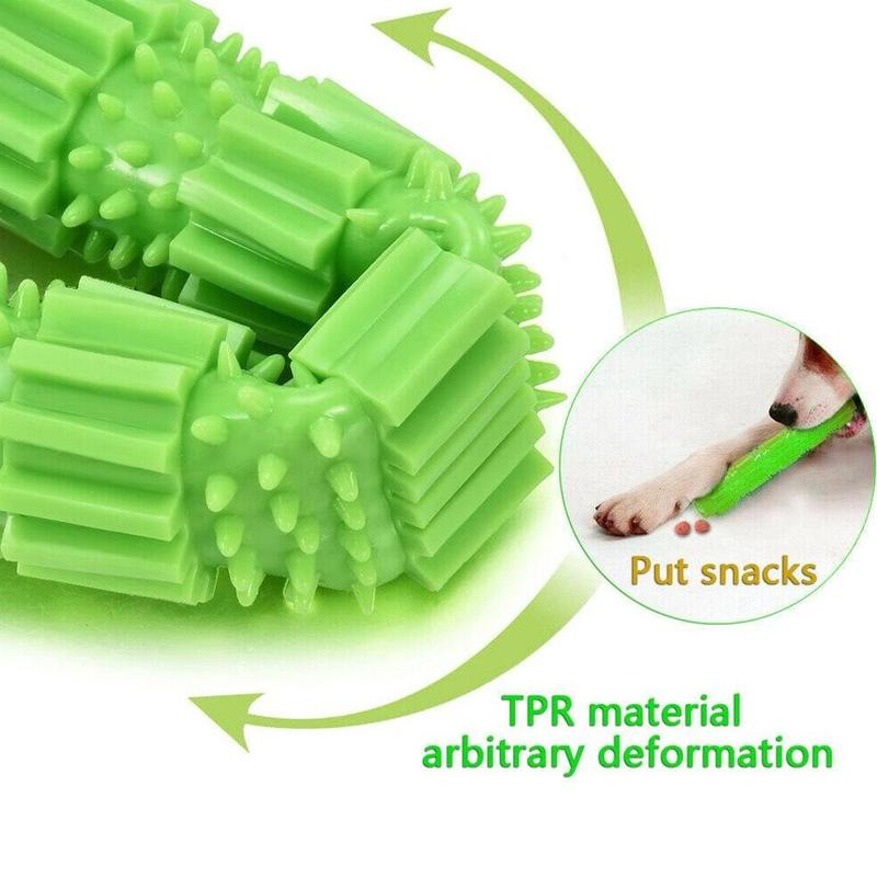 Pet Popular Toys Dog Chew Toy for Aggressive Chewers Treat Dispensing Rubber Teeth Cleaning Toy Interactive Training Nibble Toys