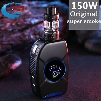 HOT Electronic Cigarette 150w Kit Box Mod 2200mAh Built-in battery With 2.0ml Tank vaporizer E-Cigarette box Vape kit