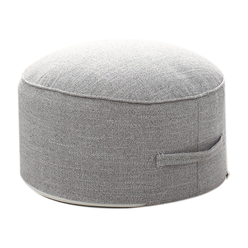 New Design Round High Strength Sponge Seat Cushion Tatami Cushion Meditation Yoga Round Mat Chair Cushions(Gray )