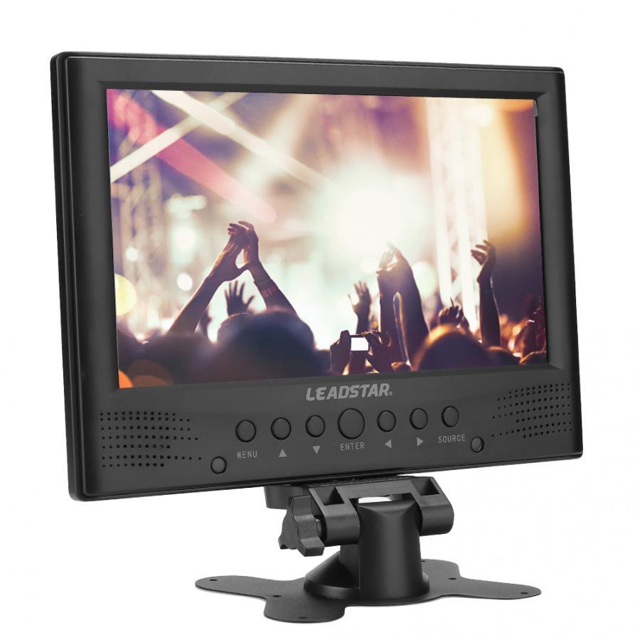 led tv LEADSTAR 9in Television ATSC Portable Car Digital Analog TV with Stand (US 110-220V) car tv Mini Television Car TV