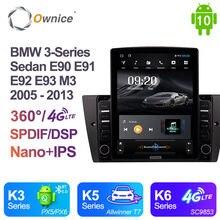 Ownice Android 10.0 BMW 3-Series Sedan E90 E91 E92 E93 M3 2005 2011 2012 2013 Car Radio Auto Multimedia Video Audio GPS Player