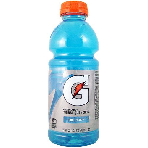 Gatorade G Series Cool Blue Raspberry 20OZ (591ml) - 1 Bottle