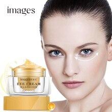 IMAGES Gold Eye Cream Collagen Hyaluronic Acid Serum Anti-puffiness Dark circles Anti Wrinkle Aging Moisturizer Firming care