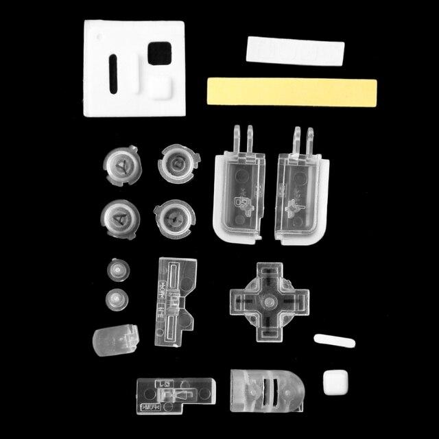 كامل استبدال الإسكان شل أدوات إصلاح طقم قطع غيار لنينتندو DS لايت NDSL