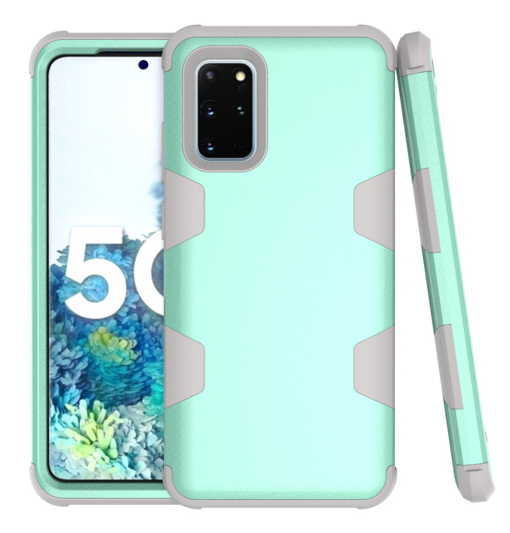 3 In 1 Armor Heavy Duty Protection Case For Samsung S20 Ultra S20 S10 S9 S8 Plus Note 8 9 Hybrid PC+TPU Rugged Shockproof Cover