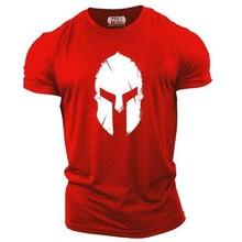 Retro Spartan Fitness T Shirt Men's 3d Print  Fashion Comfortable T-shirt Casual Breathable Summer O-neck Tops Tees