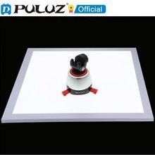 Puluz 1200lm conduziu a almofada do painel da lâmpada da luz sem sombras da fotografia com interruptor, material acrílico, nenhuma luz de escurecimento polar 34.7cm ce