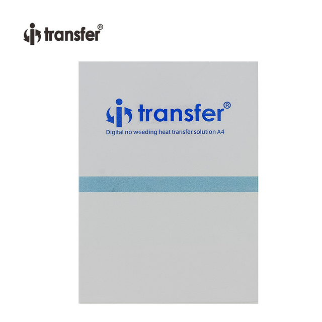 No Weeding DTF Transfer Film Dark Color  T shirts Textiles Printing Paper A4 100 Sheets/Pack DTF Films 3