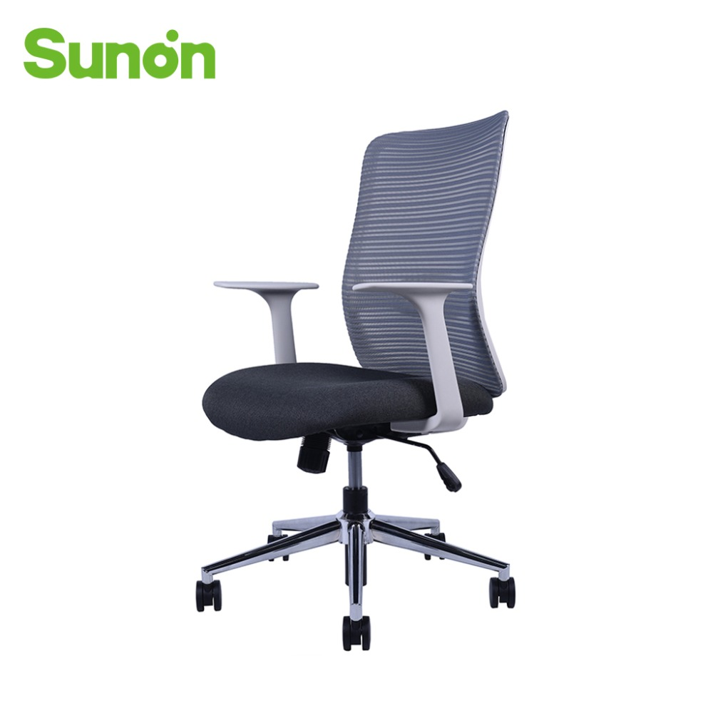 Sunon Mesh Fabric Office Chairs Lifting Rotatable Computer Chair Adjustable Ergonomic Office Chairs For Home Furniture
