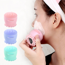 Octopus Beauty Deep Clean Cleansing Brush Silica Gel Instrument Exfoliation Facial Care Tool Makeups Skin 3 Color
