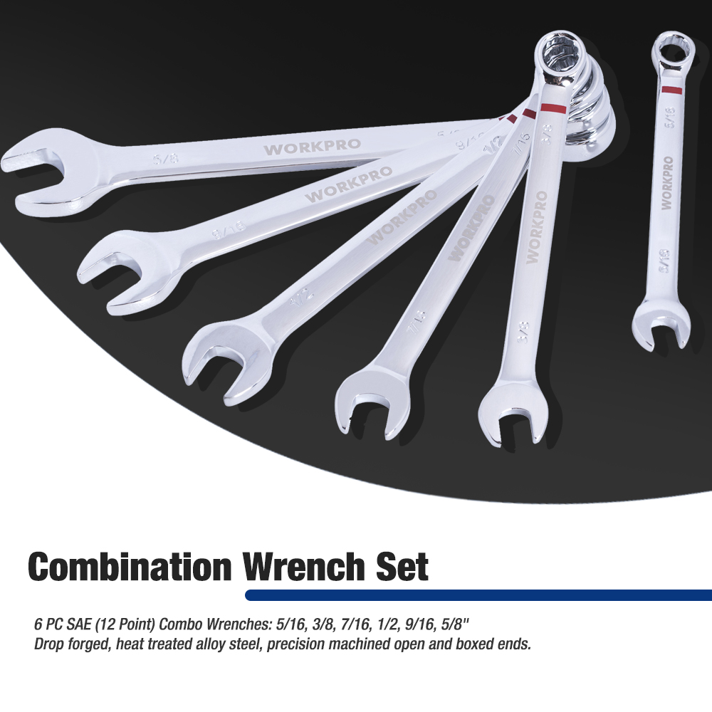 Tools : WORKPRO 101PC Mechanic Tool Set Home Tools for Car Repair Tools Sockets Set Ratchet Spanners Wrench