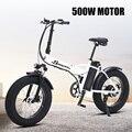 Bicicleta Eléctrica Ebike 500 W, bicicleta eléctrica gruesa, bicicleta de playa, bicicleta eléctrica cruiser 48v15ah, batería de litio, bicicleta eléctrica de montaña