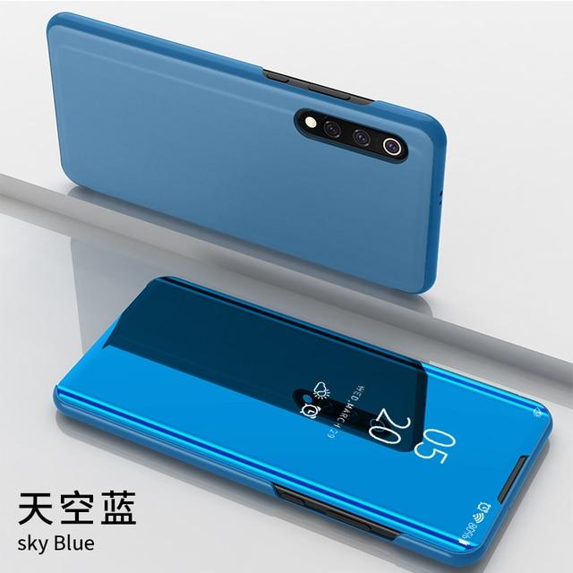 Étui à rabat intelligent pour Xiao mi 9 Pro CC9 CC9E A3 Lite mi 9T Pro 9SE 8 Lite 8x Note3 Max3 mi x3 mi x2 F1 6 6X A2 étui transparent