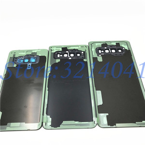 Image 5 - 10 ピース/ロットガラスバッテリーカバーバックドアハウジングケースサムスンギャラクシー S10 プラス S10e S10 S10 + G970 G9730 g9750 とカメラレンズ