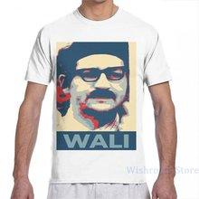 Wali men t-shirts mulheres por todo o lado impressão moda menina t camisa menino camisetas de manga curta