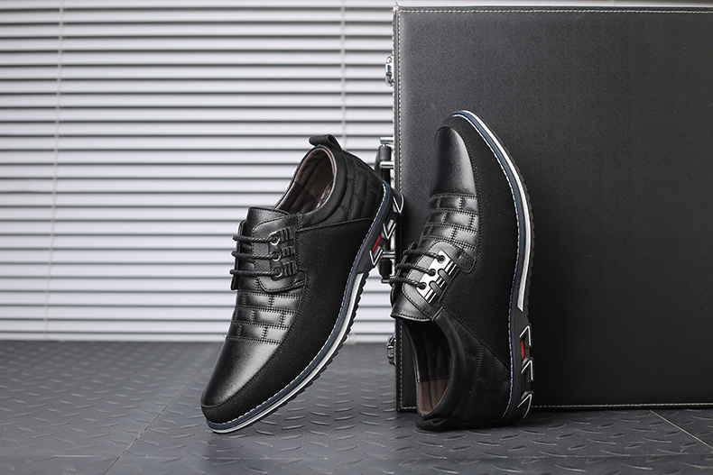 H02b8f3cd018049e996a8a32c70ac5dc6G Design New Genuine Leather Loafers Men Moccasin Fashion Sneakers Flat Causal Men Shoes Adult Male Footwear Boat Shoes