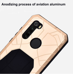 Image 5 - Case For Xiaomi Redmi Note 7 8 9 9T 9S 10 Lite CC9 Pro K20 K30 Max3 Mix2 F1 Shockproof Heavy Duty Tank Aluminum Metal Cover