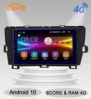 Prius RHD Android 10.0 8 core 4/64G Android Radio Car Navigation For TOYOTA Prius RHDr