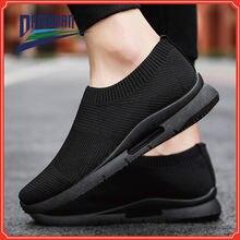 Легкие кроссовки для мужчин повседневная обувь пар беговые дышащая