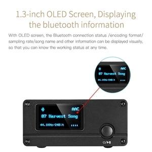 Image 5 - XDUOO XQ 50 Pro DAC HD Bluetooth ses alıcısı dekoder dönüştürücü çok fonksiyonlu OLED ekran tipi C adaptör desteği PC USB DAC
