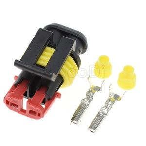 2 Pin 282080-1 282104-1-1 водонепроницаемый электрический кабель, автомобильный разъем, автомобильная вилка, 1-20 комплект