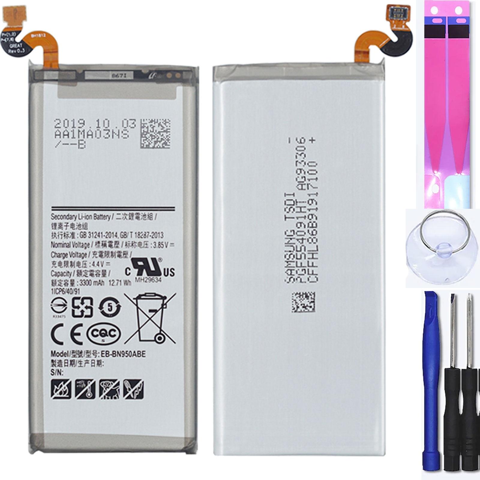 Встроенный аккумулятор для Samsung Galaxy Note 8 N950F - MPN оригинальный EB-BN950ABE