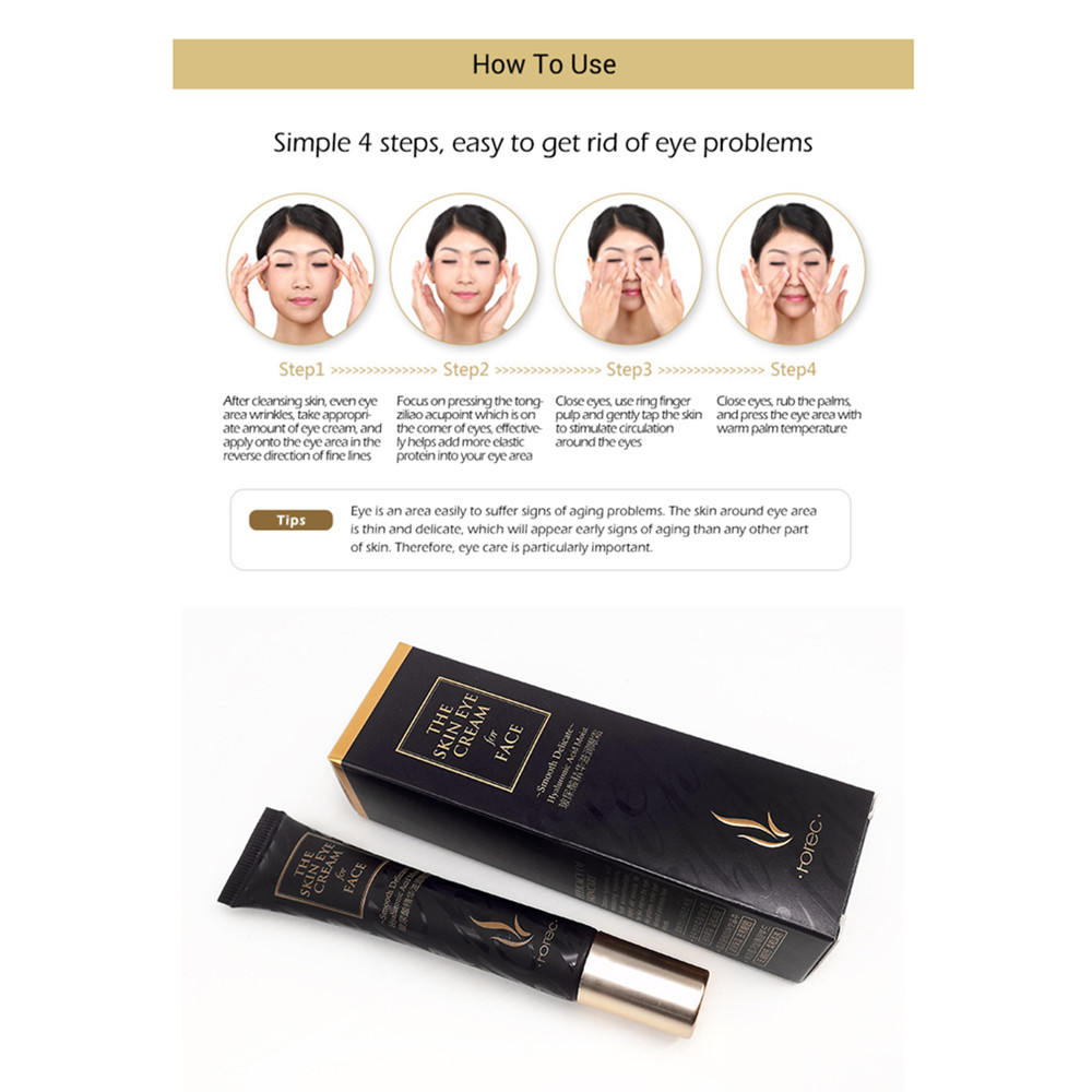 Hot sell Eye Cream Peptide Collagen Serum Anti-Wrinkle Anti-Age Remover Dark Circles Eye Care Against Puffiness And Bags 1