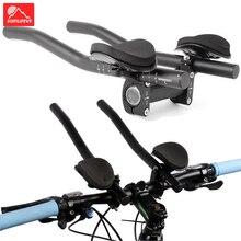 Aluminium Alloy Bicycle Rest TT Handlebar Aero Bars MTB Road Bike Rest Handlebar for Triathlon Race Bicycle Handlebar Extender