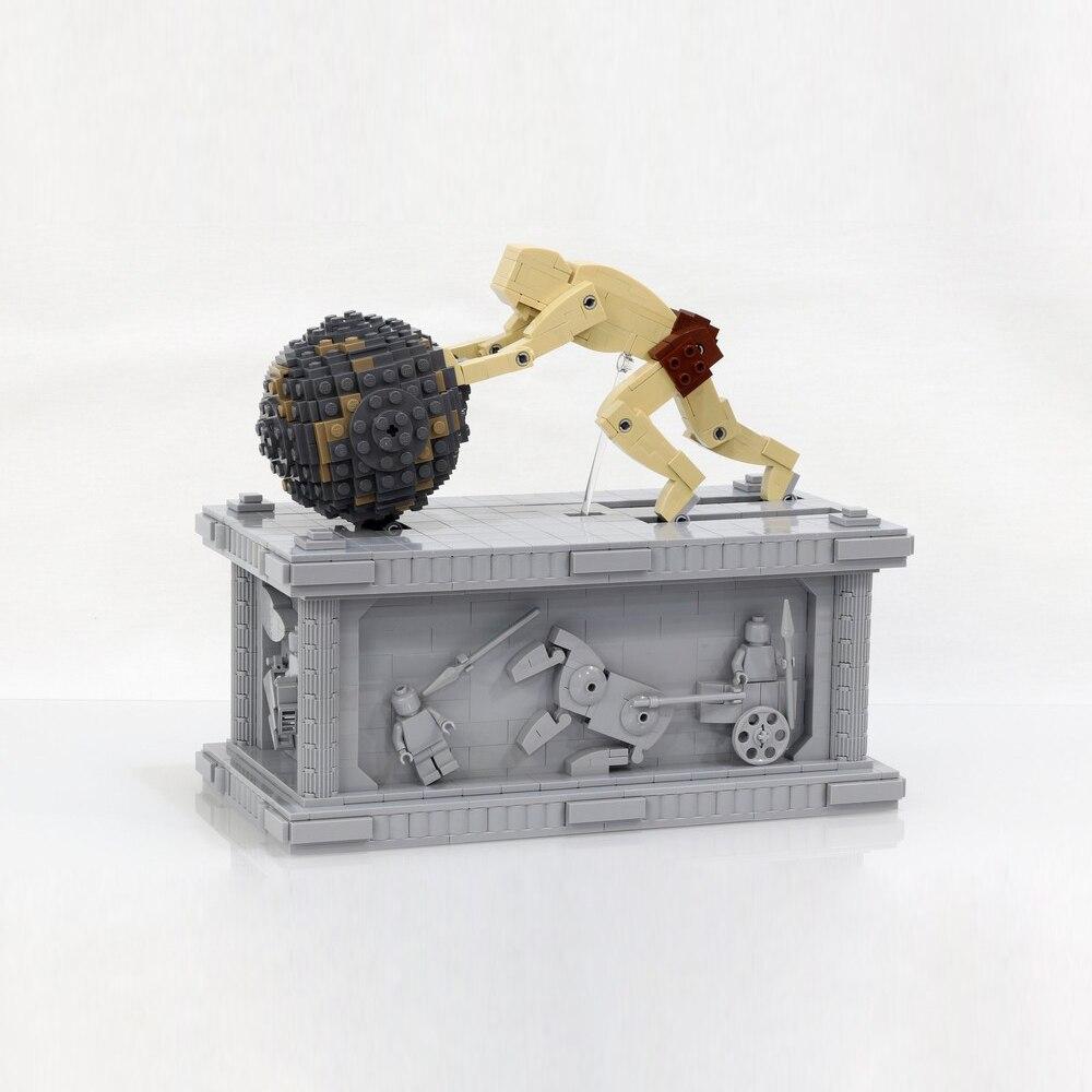 23017 1462pcs Technic Series The MOC Sisyphus Moving Set Building Blocks Bricks Children's educational toys Compatible With Bela