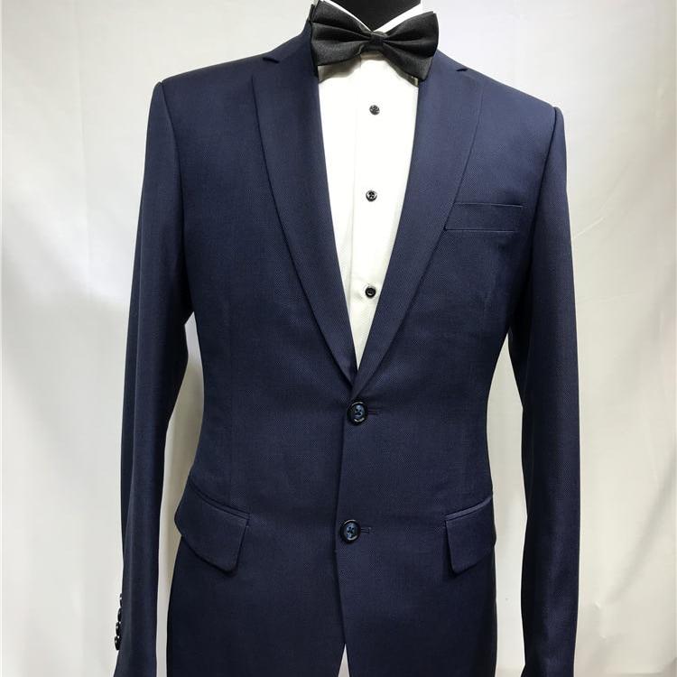 Hommes formels sur mesure costumes bleu entreprise laine sur mesure sur mesure pour MenSuits tailleur sur mesure vêtements pour hommes sur mesure