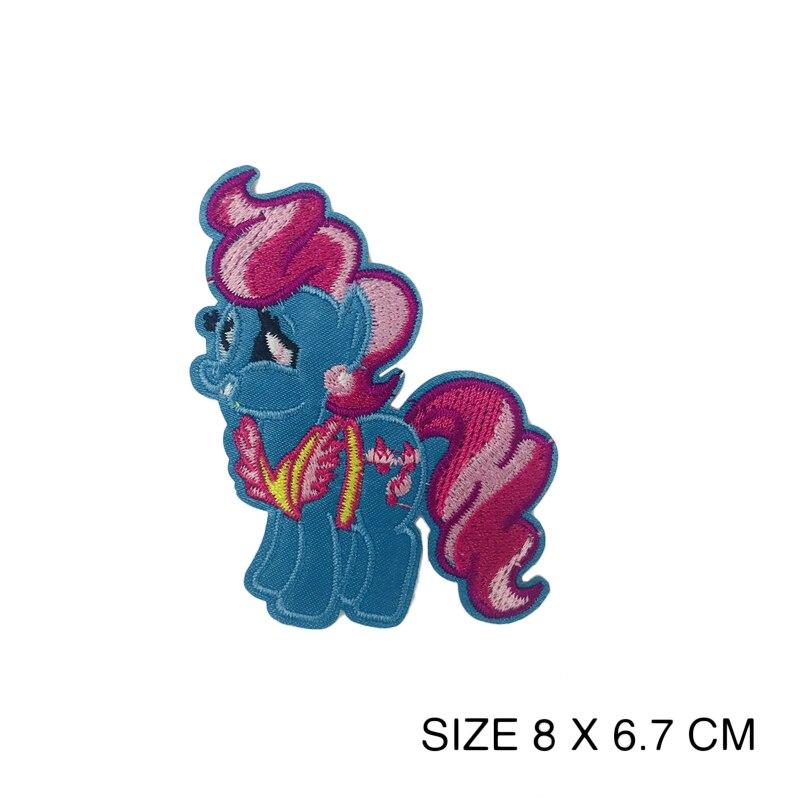9-PACK dise/ño de unicornio y caballo LAKIND 9-PACK Unicornio Arco Parches bordados para planchar o coser