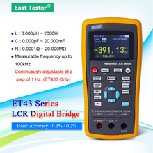 Capacitance-Meter ET430 Handheld Insolution with Tft-Lcd-Screen Mode Mode