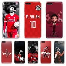 Фото - football soccer athlete Mohamed Salah Transparent Phone Case For HUAWEI honor mate 7A 8S 8X  9 9X 10 20  30 pro  pro  lite ahmed mohamed salah gestión administrativa del proceso comercial adgd0308