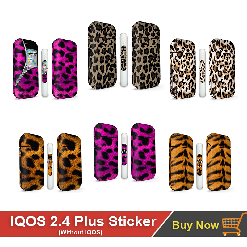 10 Leopard Printpatterns Skin Sticker For Iqos2.4 Plus For Iqos 3M Adhesive Label