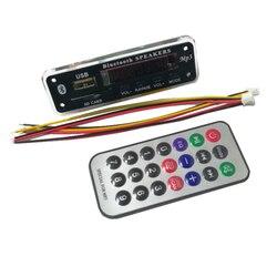 Placa decodificadora de mp3 sem fio, bluetooth 5.0, usb, ape wma, rádio fm, módulo 12v, tocador de música, potência-memória para o carro