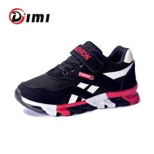 Image 1 - DIMI 2020 printemps/automne enfants chaussures garçons chaussures de sport marque de mode décontracté enfants Sneaker en plein air formation respirant garçon chaussures
