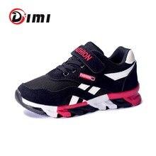Dimi 2020 primavera/outono crianças sapatos meninos sapatos esportivos marca moda casual crianças tênis de treinamento ao ar livre respirável menino sapatos