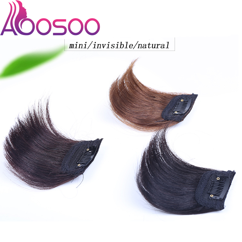 One/two-piece Hair Pads Board Seamless Top Ivisiblity Piece Thickened Hair Root Pad Highsynthetic Straight  Hair