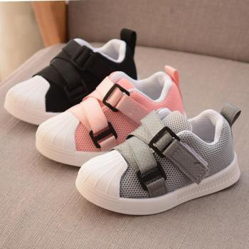 Sport Children Shoes Girls Sneakers 2020 New Spring Net Breathable Fashion Boys Shoes Soft Outdoor Running Shoes For Boys Girls
