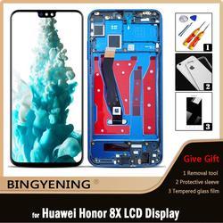 Original pour Huawei Honor 8X LCD écran tactile numériseur assemblée pour 6.5 ''Honor 9X Lite/View 10 Lite avec cadre remplacer