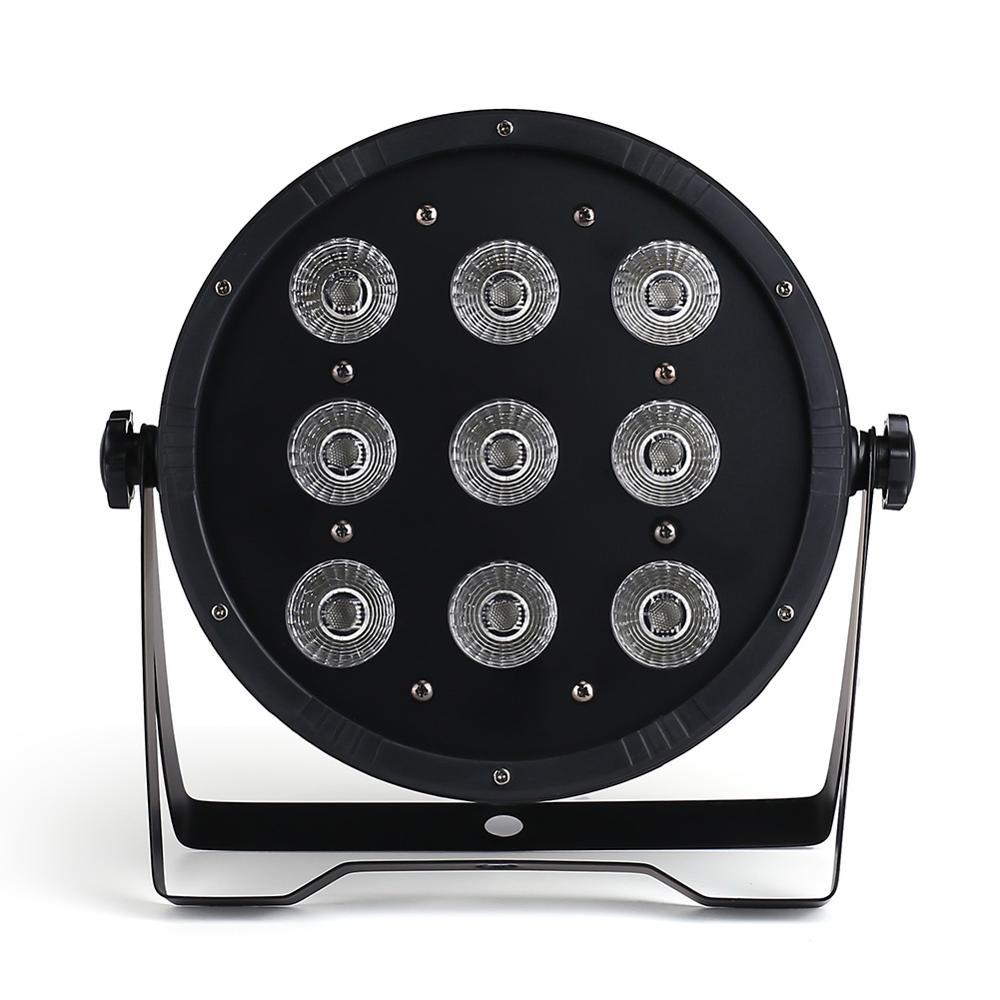 9x18W  LED Flat SlimPar Quad Light  RGBWA UV 6in1 LED DJ Wash Light Stage Uplighting dj light|light stage|led djrgbw 4in1 - title=