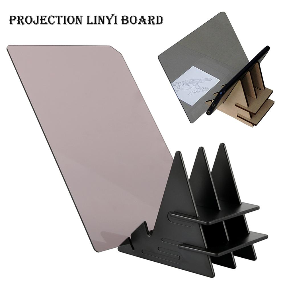 Imaging Tracing Drawing Board Sketch Mirror Reflection Dimming Projector Bracket Painting Reflection Tracing Line Table
