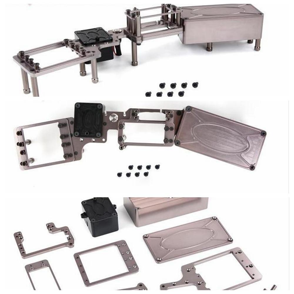 CNC Metal Steering Rod Fit for 1//5 ROFUN ROVAN F5 MCD XS5 RR5 RC CAR Toys Parts