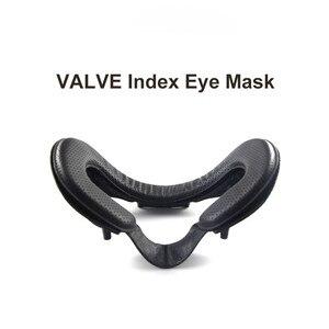 Image 3 - VR Auge Maske Gesicht Pad Matte Rahmen Magie Aufkleber Ersatz set für VENTIL index VR Headset Zubehör