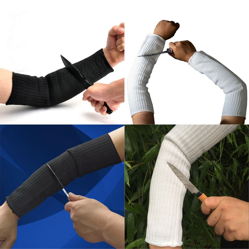 Anti-Cut Stab Resistant Cutting Work Labor Protection Cut Safety Arm Sleeve LX9E