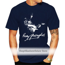 RORY GALLAGHER T SHIRT GUITARIST GUITAR RETRO VINTAGE BIRTHDAY Cool Funny T-Shirt Men High Quality Tees Funny