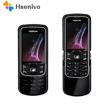 Teléfono Móvil renovado Nokia 8600 Luna, teclado Inglés/ruso/árabe, GSM 2G FM, Bluetooth